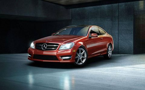 The unique design of the 2013 Mercedes-Benz C63 AMG Coupe exudes an image of performance and quality engineering.
