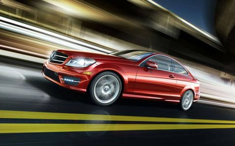 The sport suspension of the 2013 Mercedes-Benz C63 AMG Coupe makes for a smooth and comfortable ride.