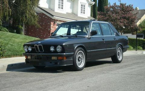 This 1985 BMW Alpina B7 is for sale out of Burbank, Calif.