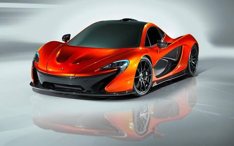 The McLaren P1 was designed by Frank Stephenson. I