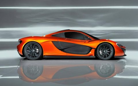 Expect the McLaren P1 to get KERS to fortify performance.