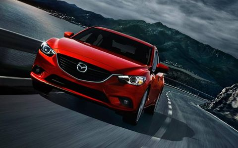 The 2014 Mazda 6i Grand Touring is equipped with a 2.5-liter I4 producing 184 hp and 185 lb-ft of torque.