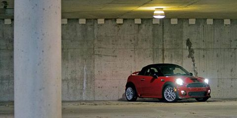 The 2012 Mini Cooper S Roadster brings out a rush of different emotions.