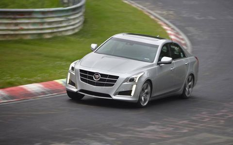 Yes, it was tuned at the Nurburgring. No that's not us driving.