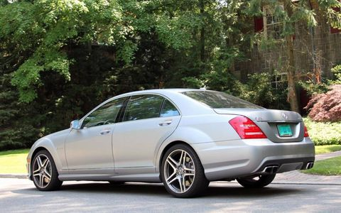 The S-class still remains at the top of the high-powered sedan class years after its introduction.