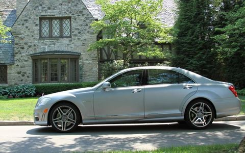 The matte finish on the 2012 Mercedes-Benz S63 AMG costs $3,950.