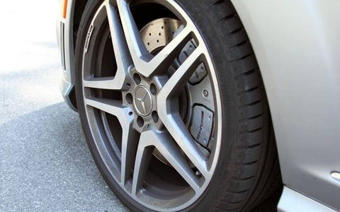 The 2012 Mercedes-Benz S63 AMG comes with 20-inch wheels.
