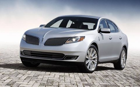 The 2013 model also gets a new front end with a sleeker, swoopier grille.