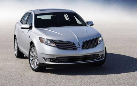 This 2013 Lincoln MKS has $7,590 of options.