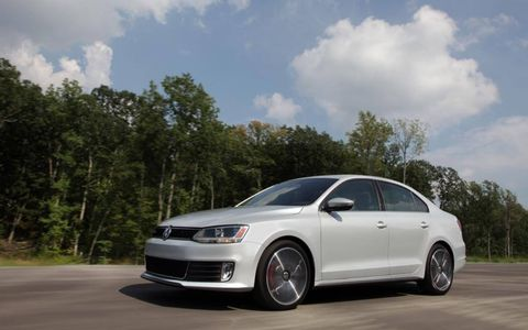 The 2013 Volkswagen Jetta GLI Autobahn comes in at a base price of $26,990 with our tester not going over that.
