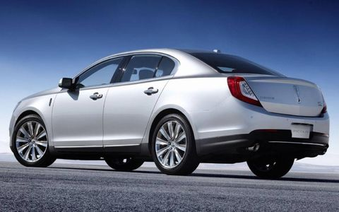 The 2013 Lincoln MKS can get to 60 mph in about 5.4 seconds.