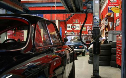 An Amsterdam contact put us in touch with Cees Van Haver at Garage Schellekens. Van Haver knows more about our '64 Alfa than we ever will.