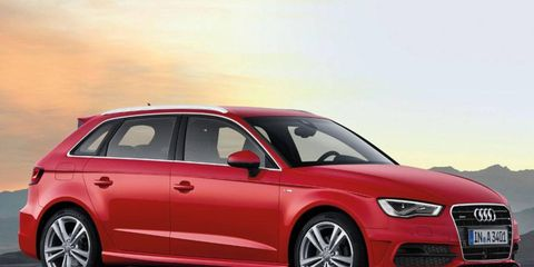 Audi restyled the A3 Sportback.