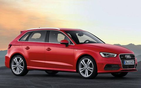 Audi restyled the A3 Sportback.