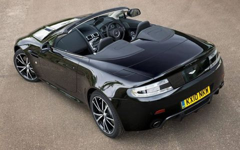 2011 Aston Martin Vantage N420