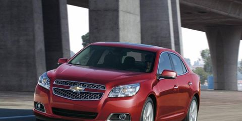 The 2013 Chevrolet Malibu Turbo is front-wheel drive.