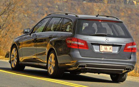 Driver's Log: 2011 Mercedes-Benz E350 4MATIC Wagon