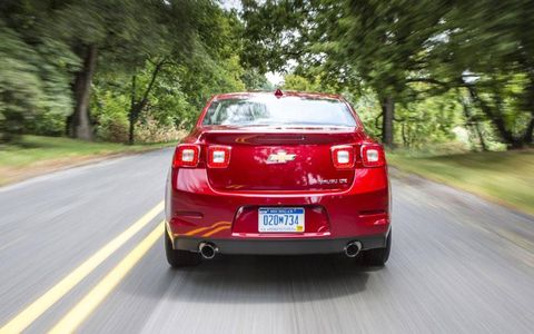 The 2013 Chevrolet Malibu Turbo gets 30 mpg on the expressway.