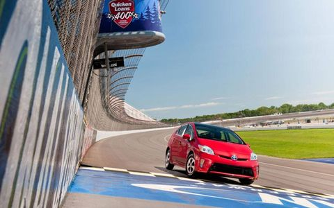 The 2012 Toyota Prius Four hits the track in this edition of Autoweek's Autofile car review.