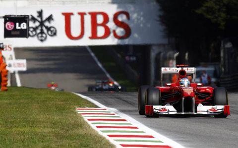 Autodromo Nazionale di Monza, Monza, Italy: Fernando Alonso, Ferrari.