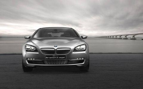 Paris Motor Show: the BMW Concept 6 Series Coupé