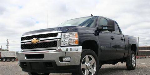 Driver's Log Gallery: 2011 Chevrolet Silverado 2500