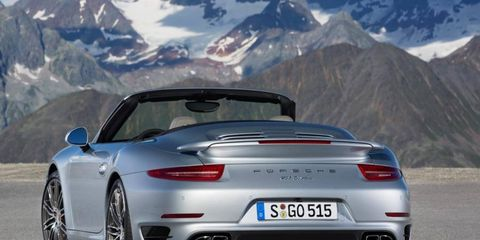 Porsche unveiled two turbo cabriolets ahead of the LA auto show. Pricing was not announced.