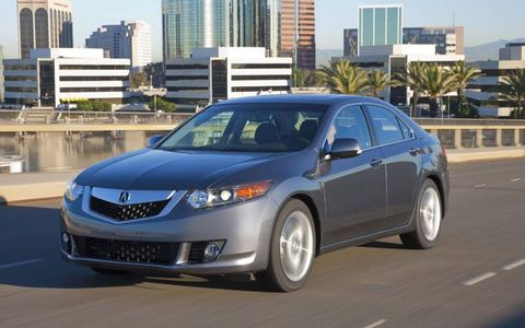 Driver's Log Gallery: 2010 Acura TSX Tech