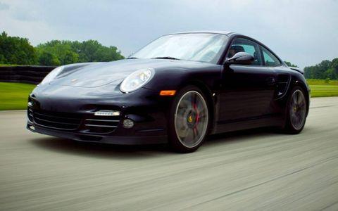 2010 Porsche 911 Turbo.