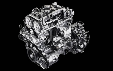 The 1.75-liter turbo I4 delivers 137 hp per liter for a total of 237 hp.