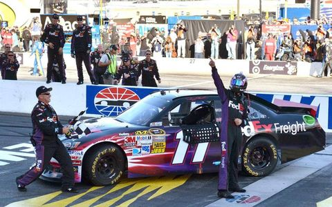 Denny Hamlin's win at Loudon on Sunday will forever be known as his called shot after be predicted his win.