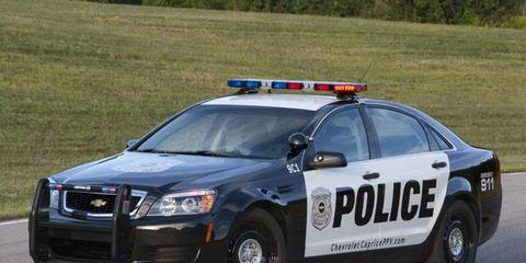 The Chevy Caprice PPV features a 6.0-liter V8