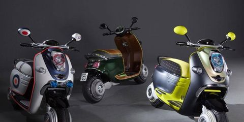 Paris Motor Show: Mini Scooter E Concept