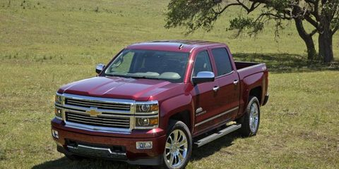The 2014 Chevy Silverado High Country will cost $45,100.