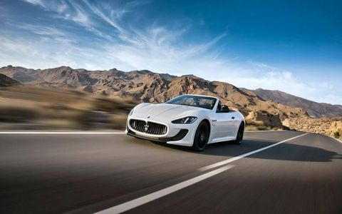 The Convertible MC is slightly longer than the standard convertible by 1.9 inches. The front fascia comes from the MC Stradale with the more aggressive aerodynamic components on both the front and rear end.