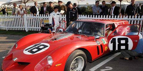 RAC TT Celebration Ferrari Breadvan Max Werner