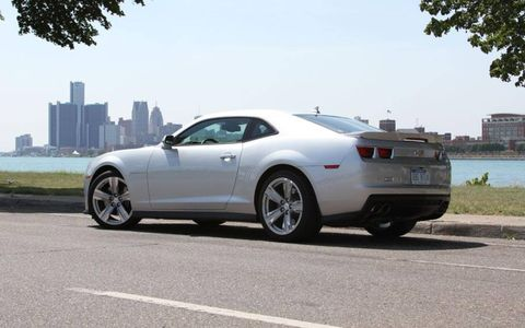 The 2012 Chevrolet Camaro ZL1 weighs more than the Ford Mustang GT500.