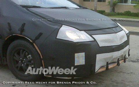 Redesigned Toyota Prius