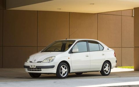 The 1997 Toyota Prius first-gen showed a bit of prowess for the Toyota brand.