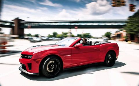 To some, the only thing better than a 580-hp Camaro is a 580-hp Camaro with drop-top capability. If you happen to be one of those people, your ZL1 has arrived.