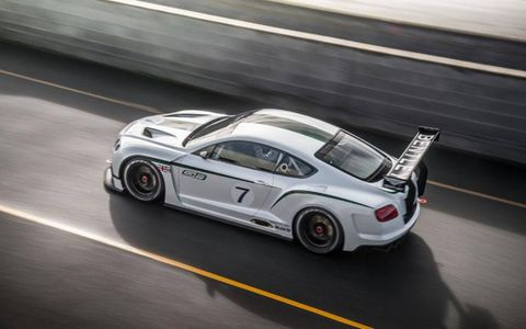 The Continental GT3 wears a noticeable aerodynamic body kit, but modifications run much deeper.