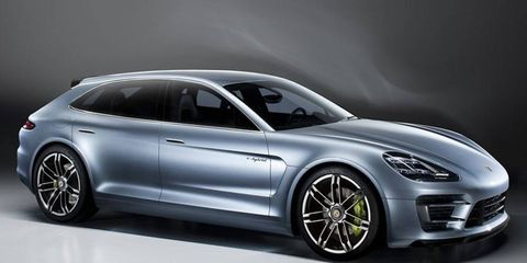Porsche plans a family of cars on the new platform that underpins the Panamera Sport Turismo concept.