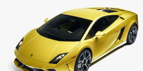 Lamborghini revealed at the Paris motor show the 2013 Gallardo LP-560-4.