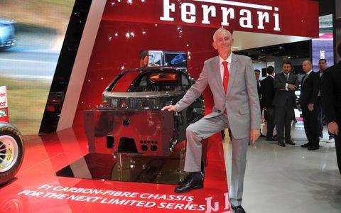 The Ferrari Enzo's successor will be built on the most complex carbon fiber structure the Ferrari has ever built.