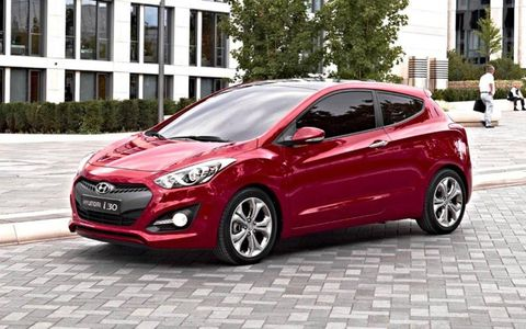 The Hyundai i30 is our Elantra in the US.