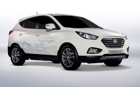 The Hyundai ix35 has a range of 365 miles.