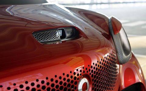 Smart Forstars concept at the Paris auto show.