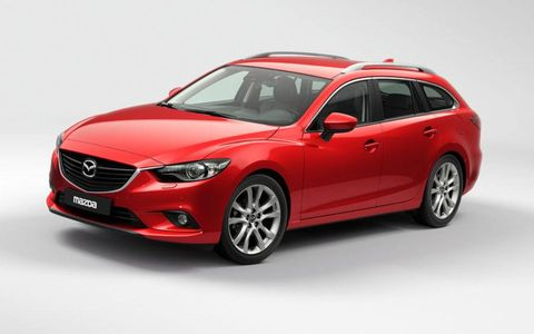 Like the recently unveiled 2014 Mazda 6 sedan, the Mazda 6 wagon seen at the Paris motor show makes good used of the automaker's Kodo design language.
