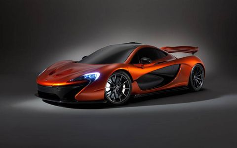 The McLaren P1, successor to the legendary F1 supercar, has made its debut at the 2012 Paris motor show.