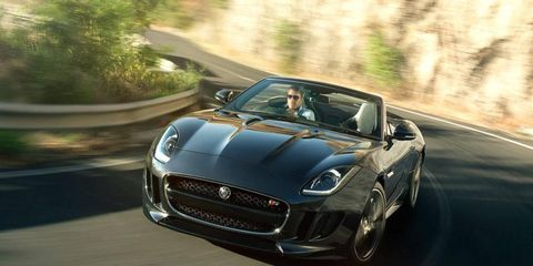 The 2014 Jaguar F-Type channels elements of the classic E-Type without relying heavily on retro design cues.